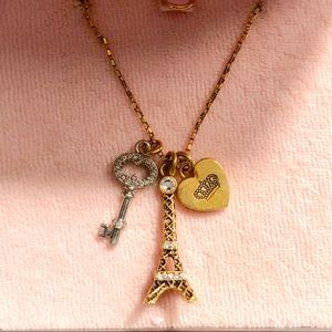 Juicy Couture Eiffel Tower Necklace